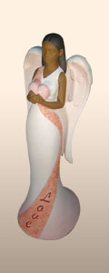 Love Heavenly Virtues Angel Figurine