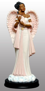 Angel in Pink w/Baby