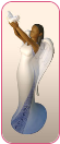Peace Heavenly Virtues Angel Figurine