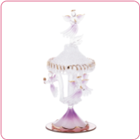 GLASS ANGEL MERRY-GO-ROUND