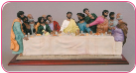 Black African American Last Supper